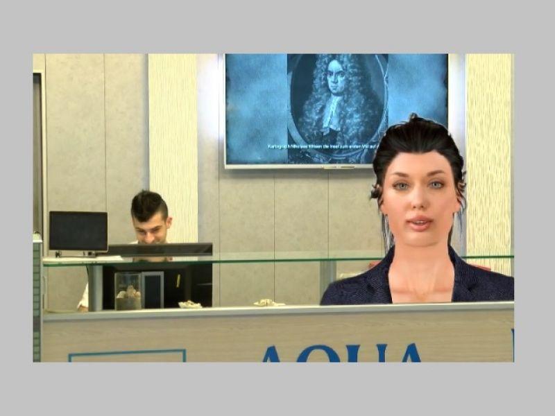 Дигиталният хотелски рецепционист Ева посреща гостите на хотели в България