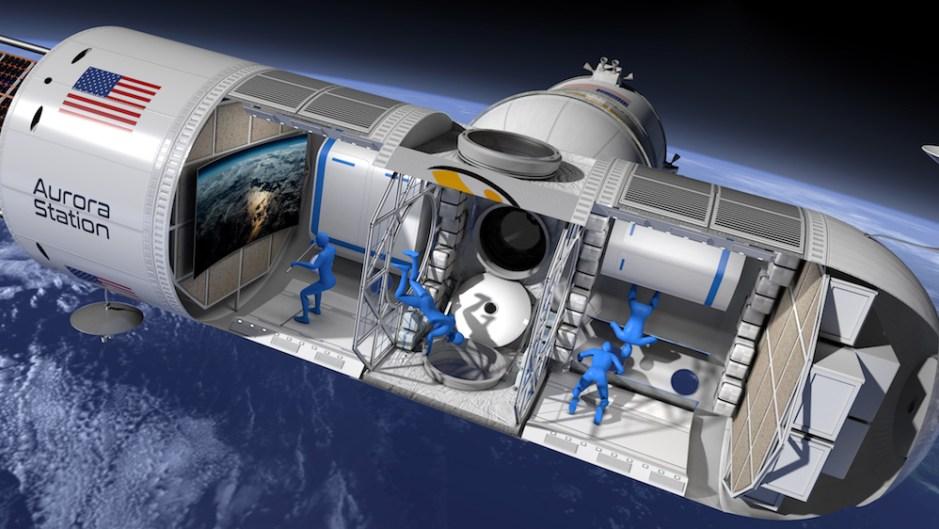 Космически хотели вече се надпреварват, за да предложат на туристите стая в небето