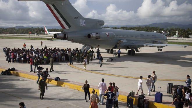По 1000 долара средно харчат туристите, пристигнали със самолет в Мексико