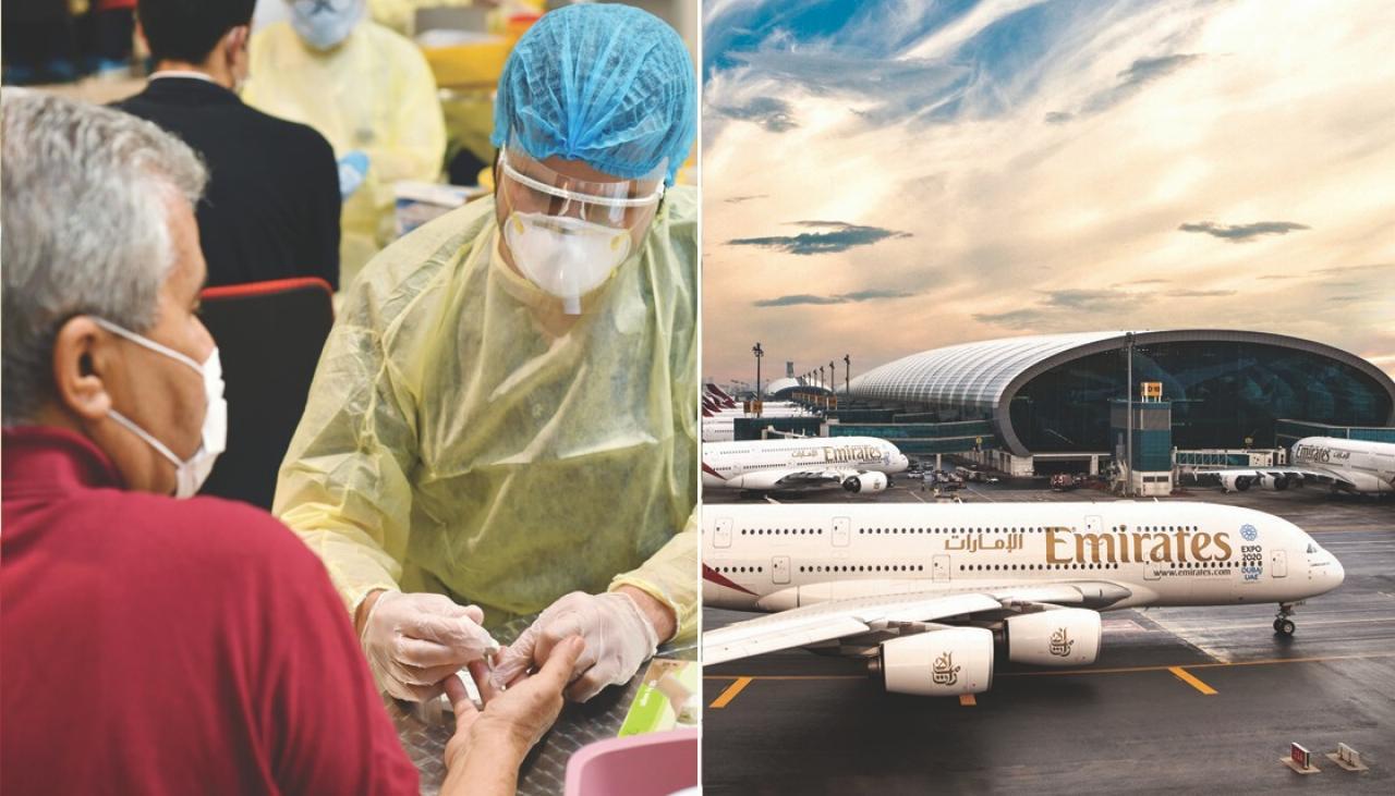 Авиокомпании тестват пътниците за коронавирус преди излитане