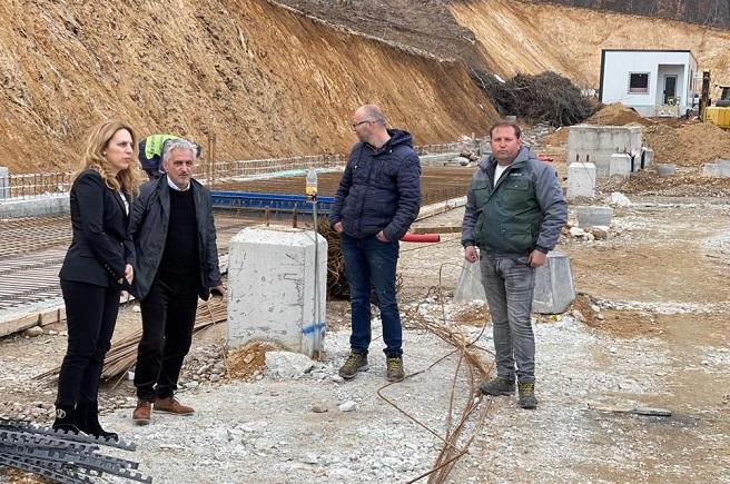 Вицепремиерът Марияна Николова инспектира ГКПП Рудозем-Ксанти