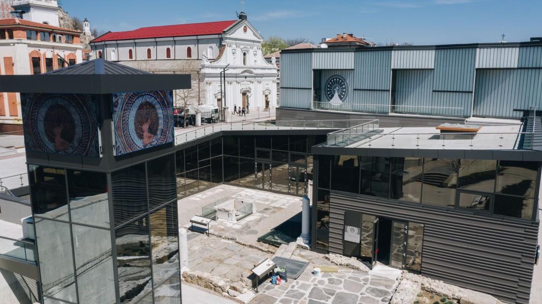 В Пловдив тържествено откриха реставрираната Епископската базилика на Филипопол