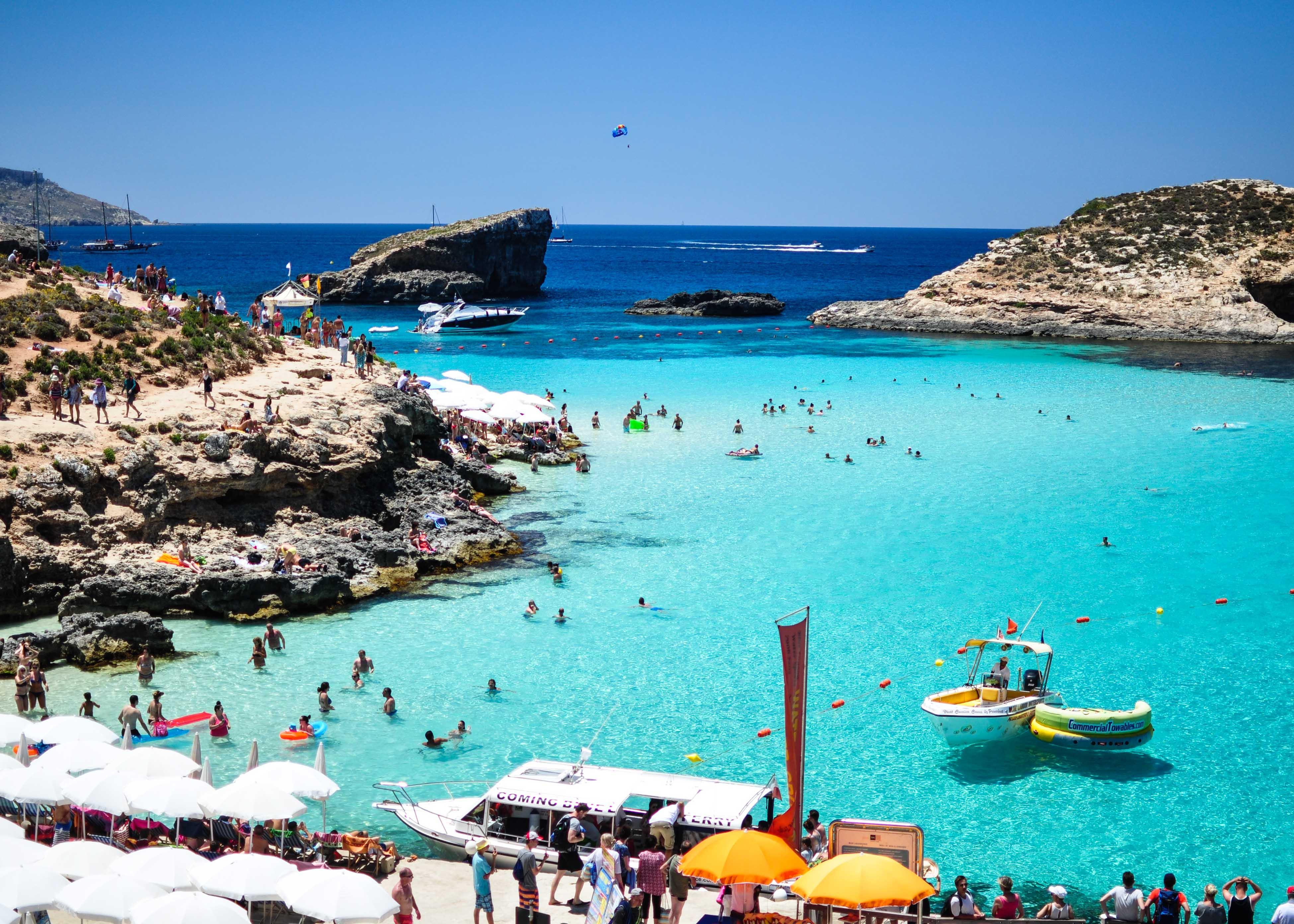 Туристическият поток към Малта е спаднал с 81%