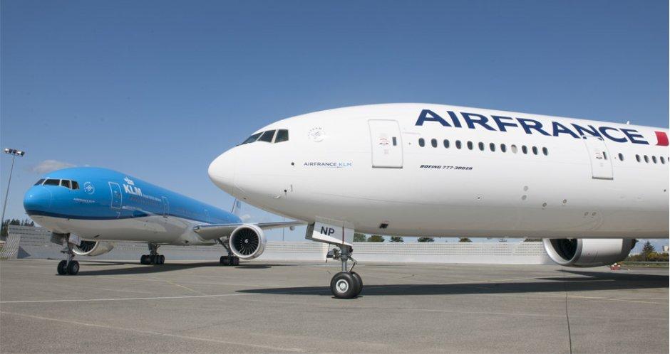 Авиационната група Air France-KLM обяви резултатите си за 2017 г.