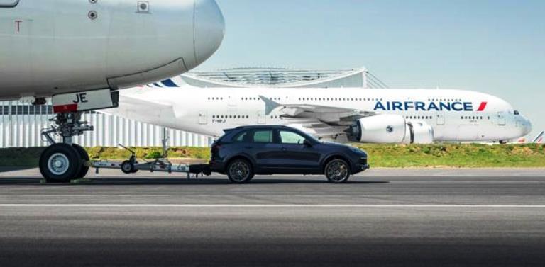 Air France и Porsche поставиха нов рекорд на Гинес