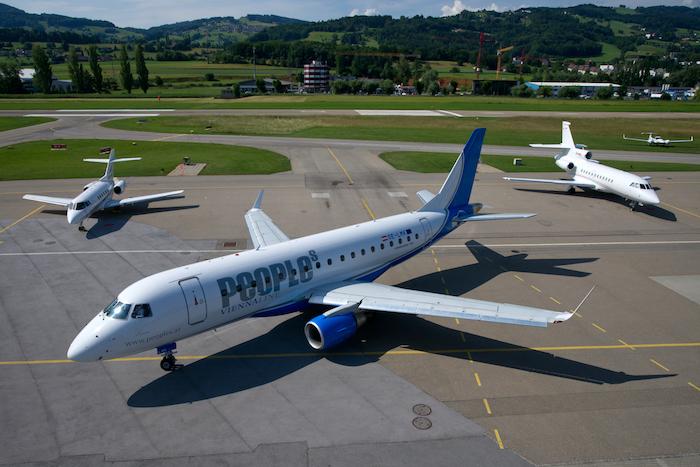 Австрийска авиокомпания с най-кратък международен полет