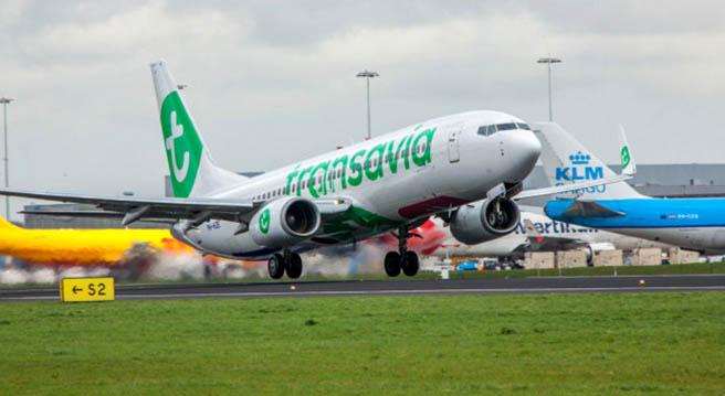 Transavia с първи полет по новата линия Амстердам - София
