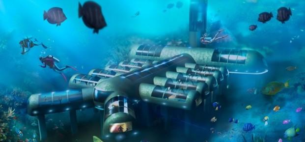 Подводните хотели ще променят представата за хотелиерство