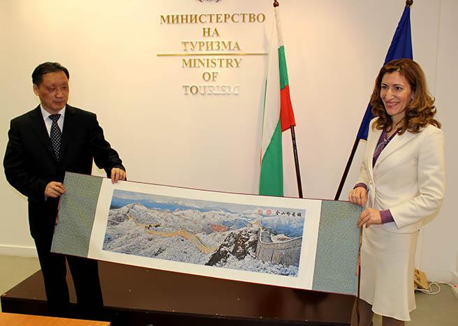 България и Китай обсъждат насърчаване на туризма помежду си