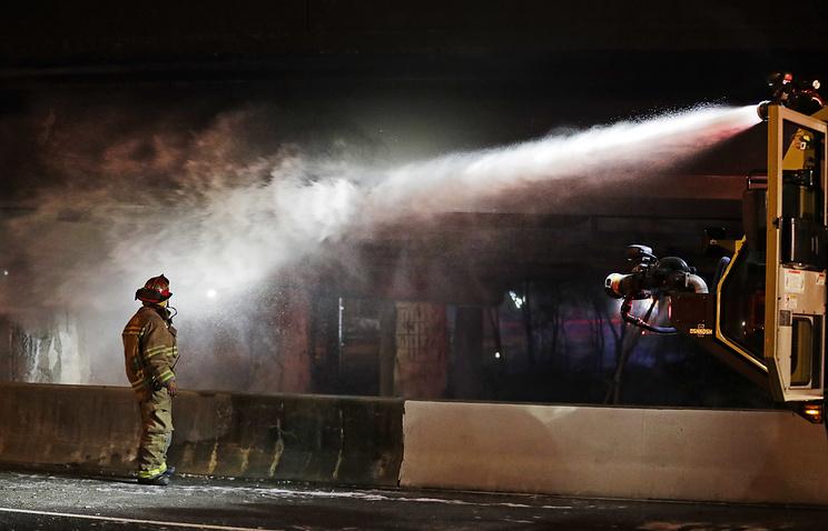 11 жертви взе пожар в хотел в Батуми