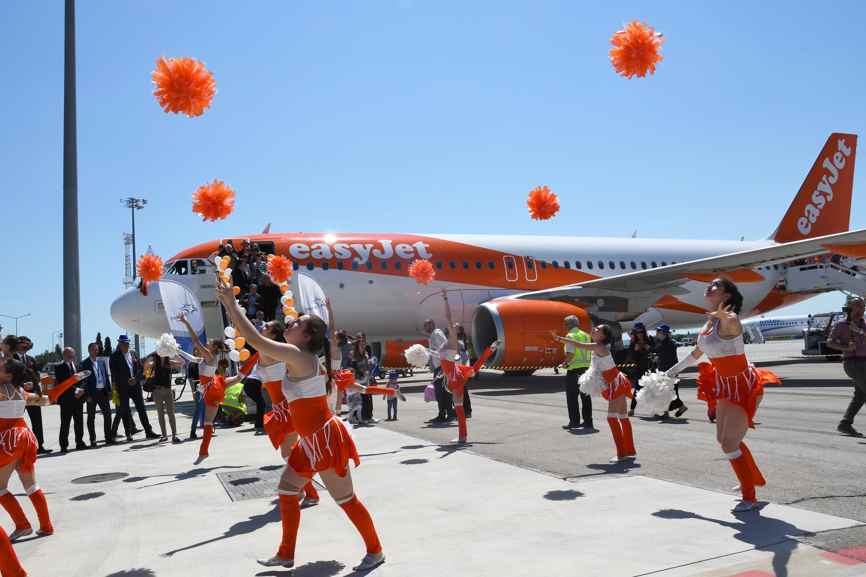 easyJet с първи полет от Летище Варна