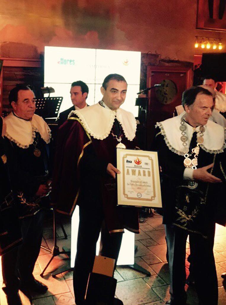Община Луковит получи награда за най-добра уелнес дестинация на Балканите за 2014 г.