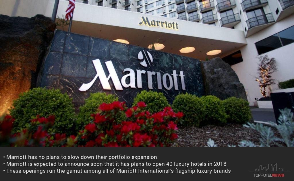 Marriott открива 40 нови хотела през 2018 г.