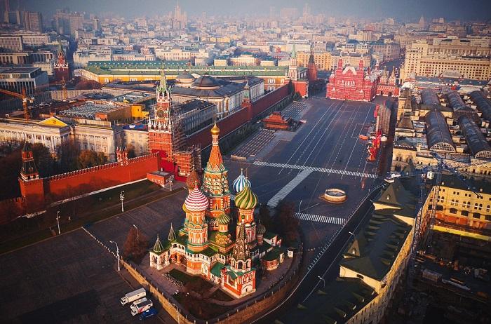 17,5 млн. туристи са посетили Москва през 2016 г.