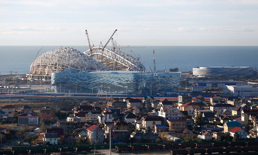 Сочи се готви за Зимната олимпиада през 2014 г.