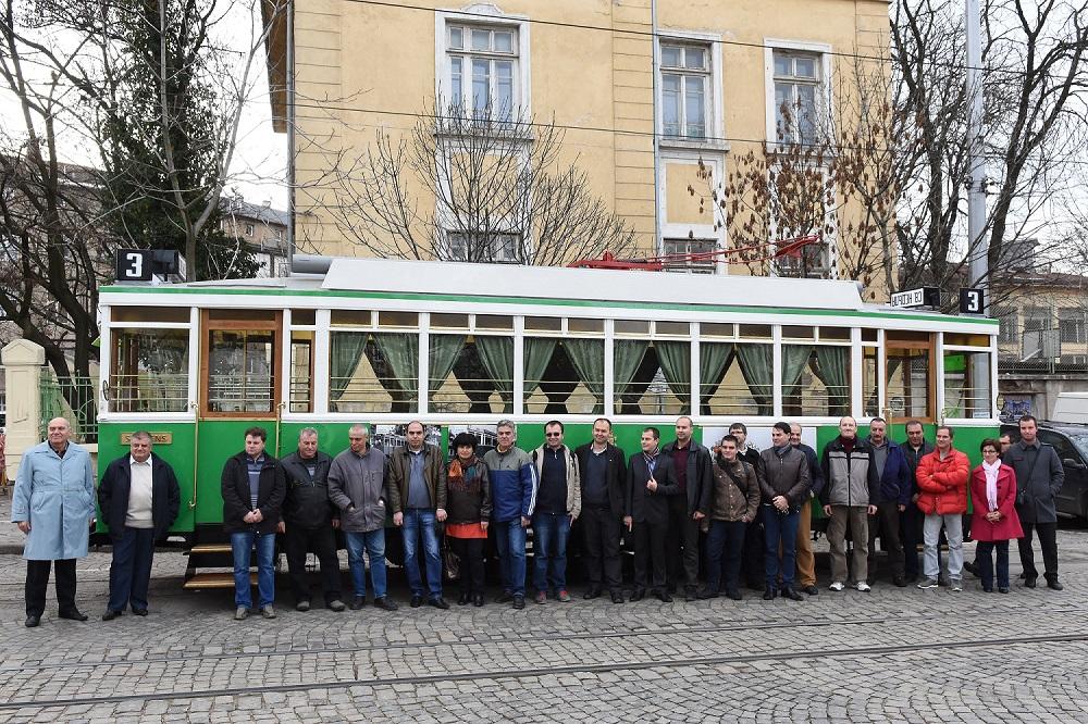 Движещ се трамвай от 1935 г. ще информира туристите в София