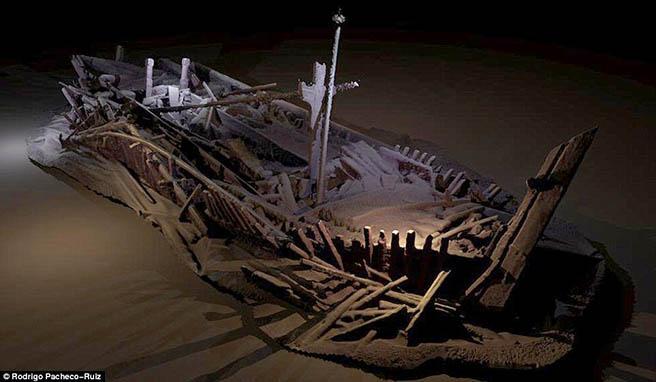 Учени откриха удивително запазени кораби на дъното на Черно море