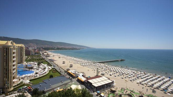 Българският курорт Слънчев бряг предлага